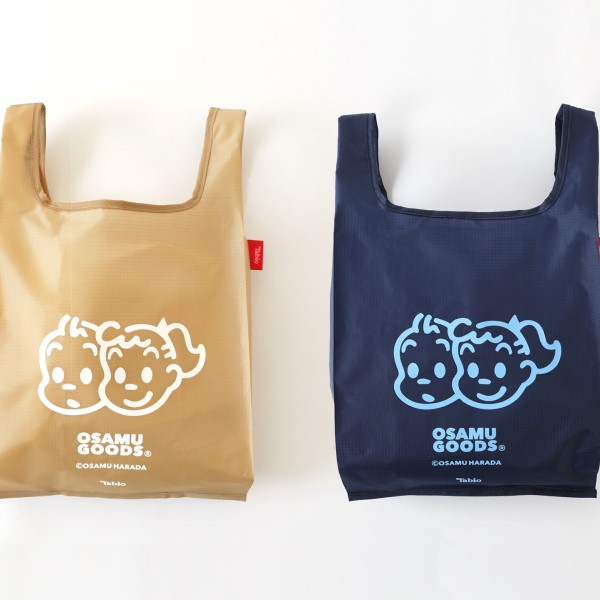 「OSAMU GOODS」×「靴下屋」コラボ商品第2弾が登場!!靴下にエコバッグも♪