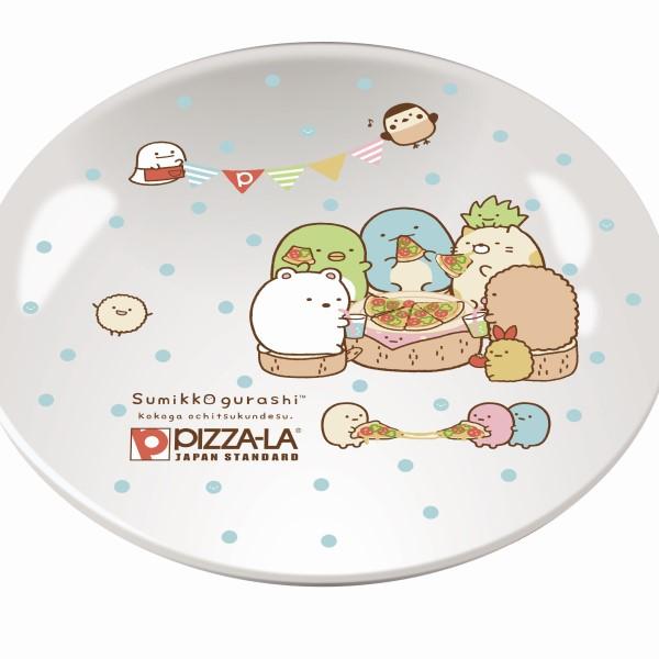 「すみっコぐらし」×「ピザーラ」今年の冬限定デザインのお皿が登場♪