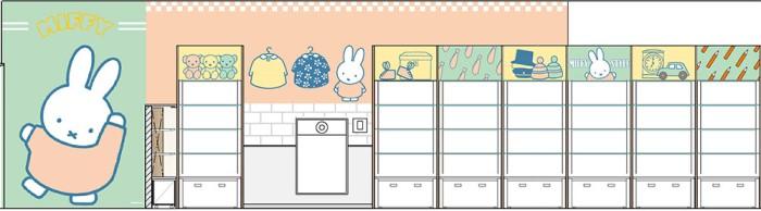 「miffy style 心斎橋パルコ店」OPEN♪アメカジ風ミッフィーに出会えるのはここだけ!