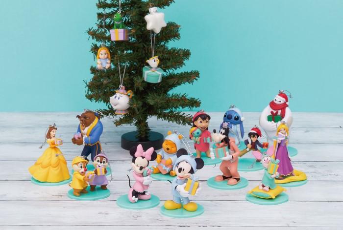 ディズニーの「クリスマスオーナメント」が当たる♪Happyくじが発売!