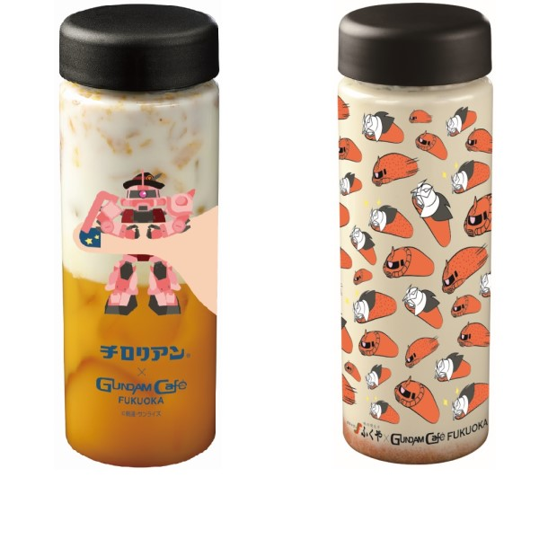 「ガンダムカフェ福岡店」1周年記念!「チロリアン」「ふくや」コラボメニュー登場!!