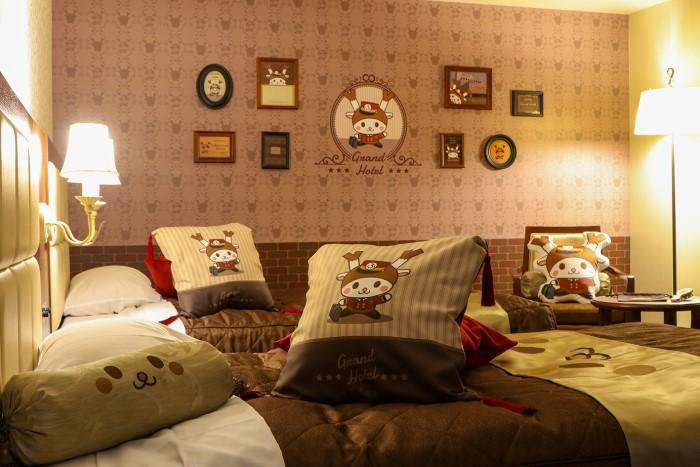 「ふっかちゃんルーム」埼玉グランドホテル深谷に誕生♪ブラシのアメニティが嬉しい♡