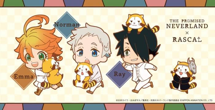 「約束のネバーランド」×「ラスカル」コラボグッズがアニメイトなどで先行販売中!