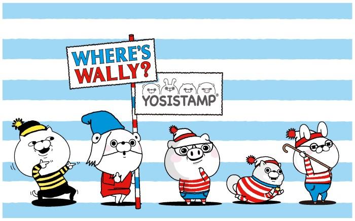 「ウォーリーをさがせ」×「ヨッシースタンプ」コラボグッズがPLAZAに登場中だよ~☆