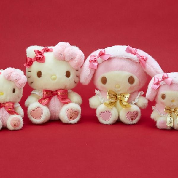 ハローキティ&マイメロディが今年も「GODIVA」とコラボ♪バレンタインが楽しみ♡