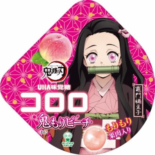 「鬼滅の刃」×「UHA味覚糖」コラボ第7弾商品は「コロロ 鬼もりピーチ」!!