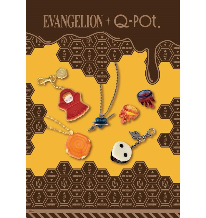 """エヴァンゲリオンの世界を""""とろ~り""""侵食♡「Q-pot.」コラボアクセサリー登場!"""