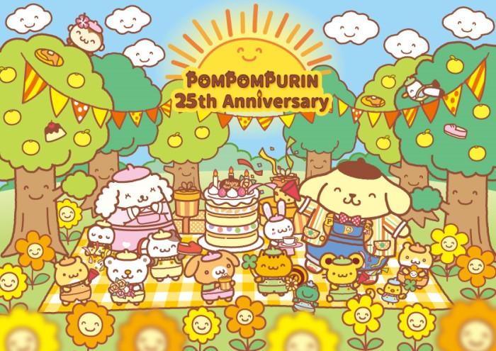 サンリオピューロランドがポムポムプリン25周年をお祝い!マフィンくんが初登場するよ~♪