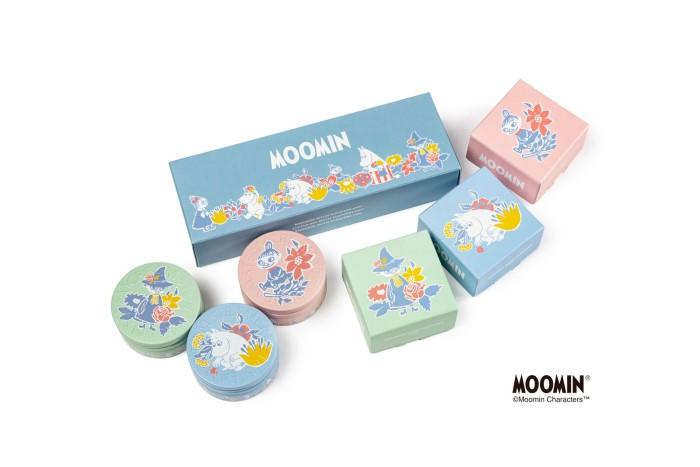 ムーミン谷の仲間たちデザインの「スチームクリーム」ミニ缶セットが登場♪