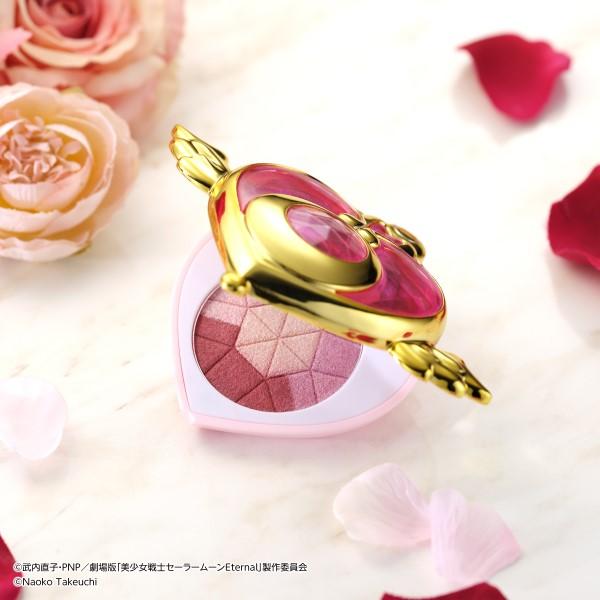 「セーラームーン」クライシス・ムーン・コンパクトが4色のピンクアイシャドウに♡