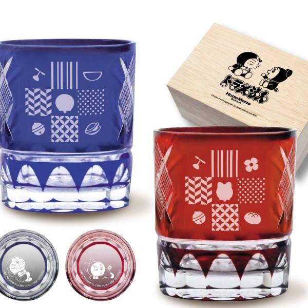 「ドラえもん」江戸切子グラスが当たる!「ほっともっと」春のキャンペーン