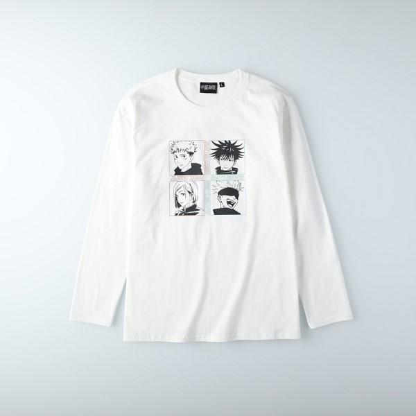 「呪術廻戦」×「ライトオン」ロンT&トートバッグの予約販売スタート!
