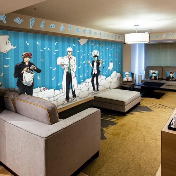 「銀魂 THE FINAL」ルームがサンシャインシティプリンスホテルに誕生!!