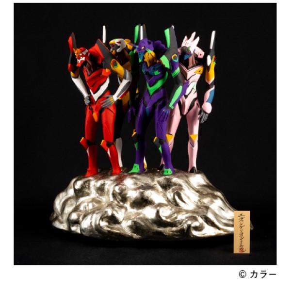 「エヴァンゲリオン×伝統工芸」博多人形が登場!9セット限定で予約受付中