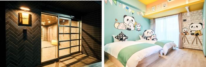 「お買いものパンダ」コラボ宿泊施設「Rakuten STAY 福岡薬院」がオープン!