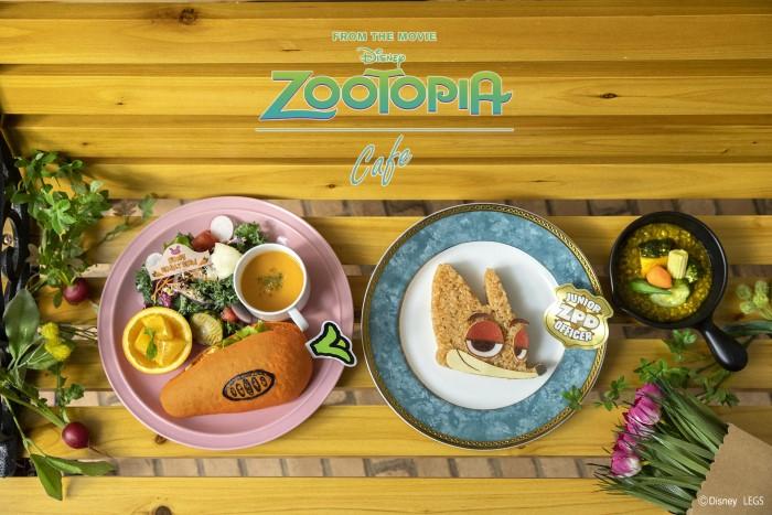 「ズートピア」5周年記念のカフェが東京・大阪・名古屋にオープン!