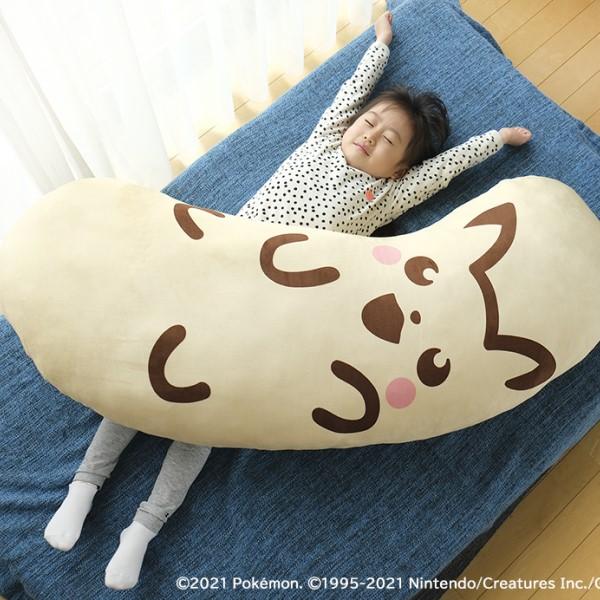 「ピカチュウ東京ばな奈」がメガサイズの抱き枕に!Twitter応募で当たるよ♪