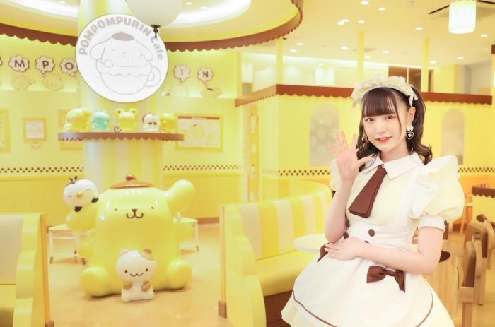 「ポムポムプリンカフェ」×「あっとほぉーむカフェ」常設コラボカフェがOPEN!