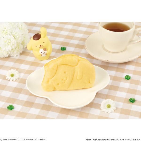 「ポムポムプリン」25周年記念!寝姿がかわいい「ポムポムプリン焼き」発売