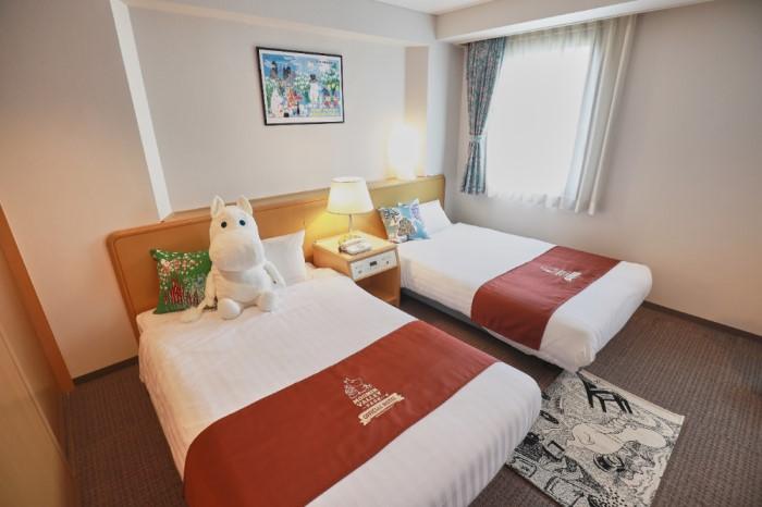 「ムーミンバレーパーク」オフィシャルホテルに「ムーミンスペシャルルーム」誕生!