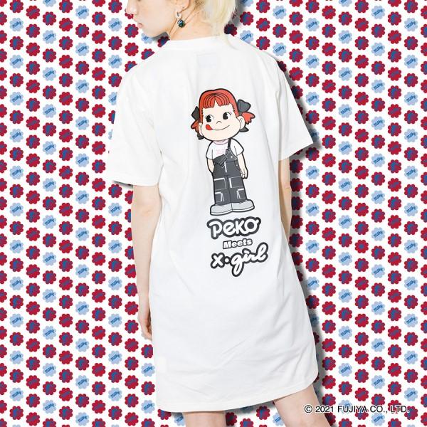 「ペコちゃん」×「X-girl」初のコラボレーションコレクションが登場♪