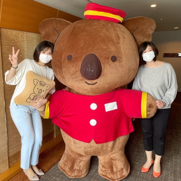 「ホテルマンのマーチくん」とのグリーティングが楽しめる!ロッテシティホテル錦糸町