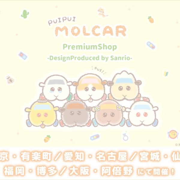 サンリオがモルカーを可愛くデザイン♡「PUI PUI モルカー」プレミアムショップ開催!