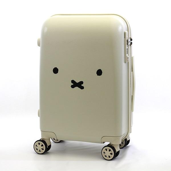 ミッフィーの顔がインパクト大!スーツケースがヴィレヴァンオンラインに登場中♪