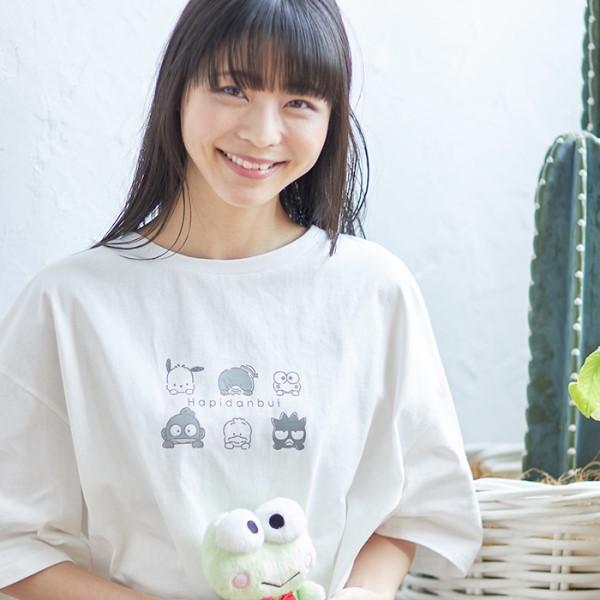 サンリオ「はぴだんぶい」コラボファッションアイテムが「マガシーク」に登場!