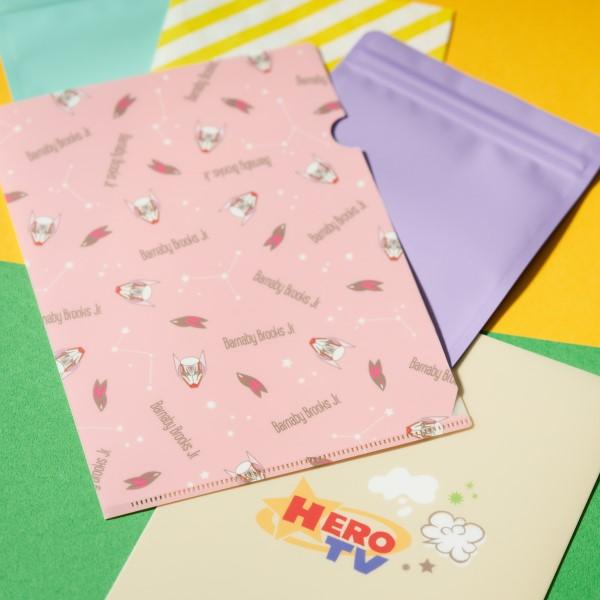 「TIGER & BUNNY」ポップで可愛い文具や雑貨が発売!