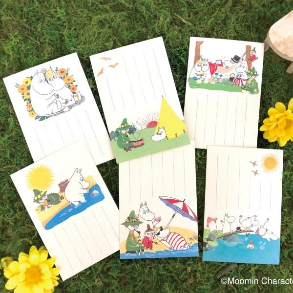 「ムーミン」伊予和紙を使った季節の絵入りはがきが郵便局に初登場!