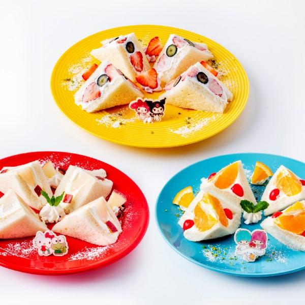 「サンリオ」×「EGG&SPUMA」フルーツをモチーフにしたコラボカフェがOPEN!