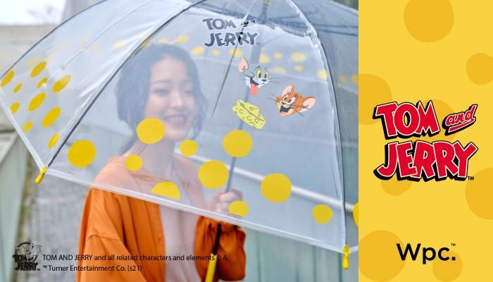 「トムとジェリー」ビニール傘&折りたたみ日傘が「Wpc.」に登場中!