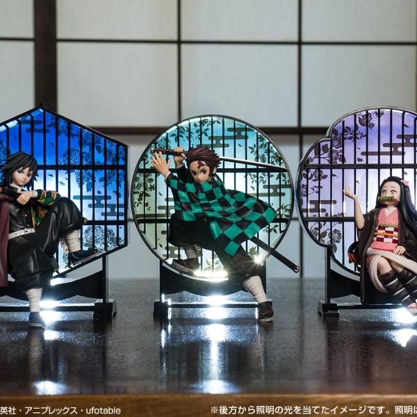 「鬼滅の刃」一番くじにクリア背景付き台座で飾れるフィギュアが新登場!