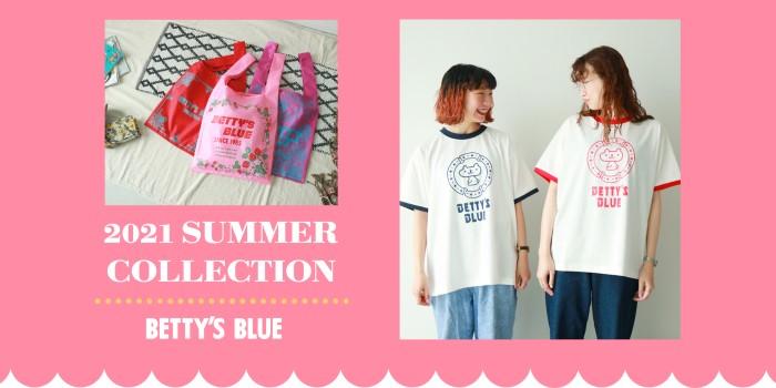 BETTY'S BLUE「エイミーちゃん」大復活!Tシャツの先行予約スタート!!