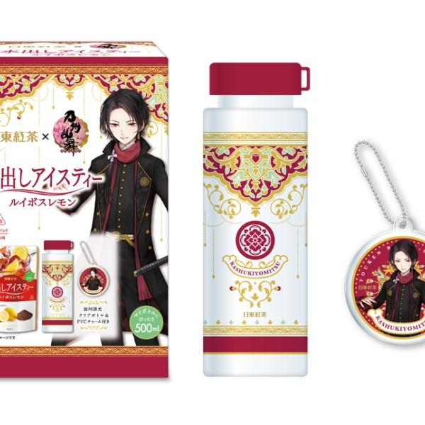「刀剣乱舞」×「日東紅茶」コラボパッケージ商品登場!予約スタートまもなく♪