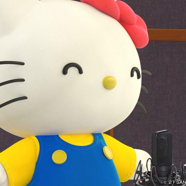 ハローキティが「歌ってみた」に挑戦!記念すべき1曲目はあの「ポップコーンの歌」!!