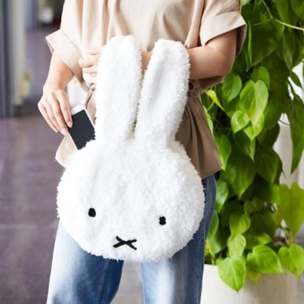 「ミッフィー」顔の形のふわふわトートバッグがヴィレヴァンオンラインに登場中!