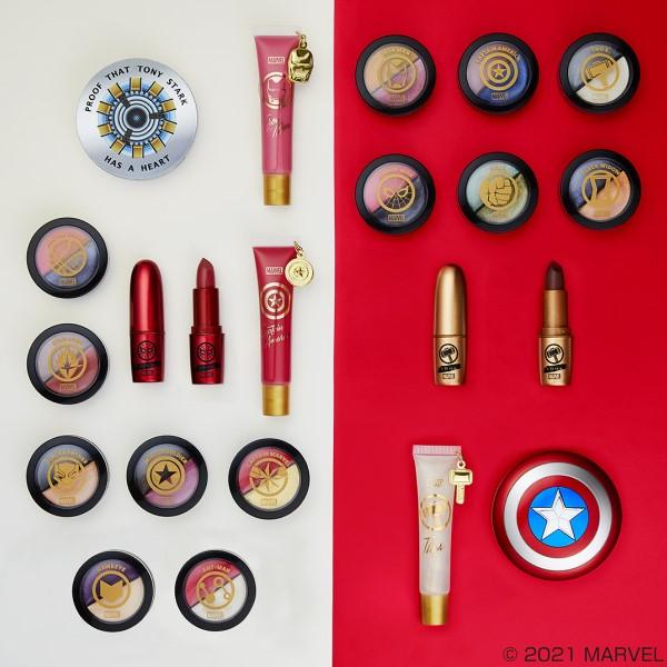 アイアンマン、キャプテン・アメリカがコスメに!「アベンジャーズ」一番コフレに集結!!