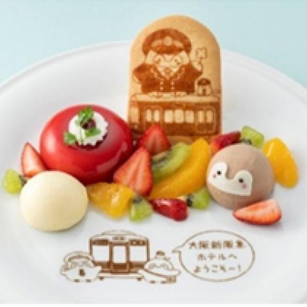 「コウペンちゃん」オリジナルフードが阪急沿線のお店に登場!