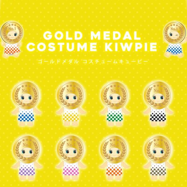 キューピーちゃんが金メダルになりきり♪コスチュームキューピー発売中!