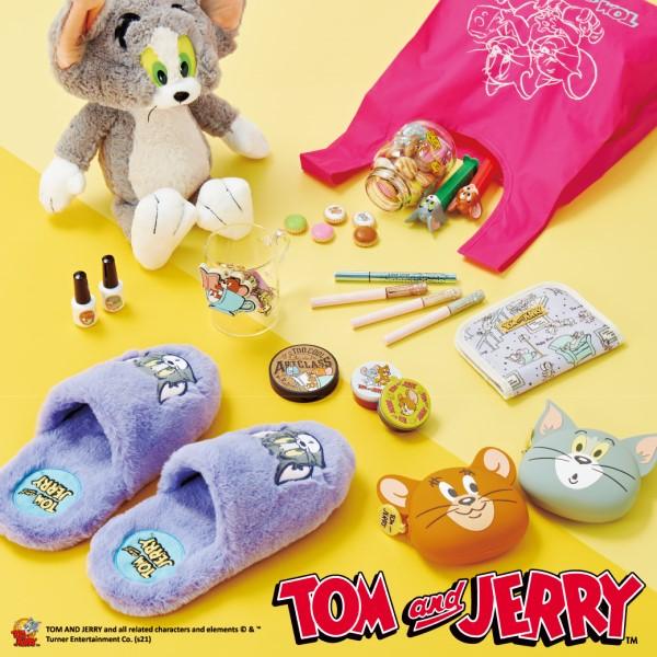 「トムとジェリー」コスメにアパレル、雑貨やお菓子がPLAZAに大集合!!