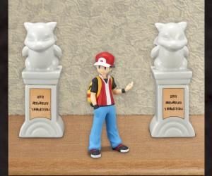 ポケモンの「ジムに置いてある石像」が陶器に!調味料入れにもなるよ~!