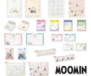 「ムーミン」文具の新作が発売中!落ち着いた色味で秋冬にぴったり♪