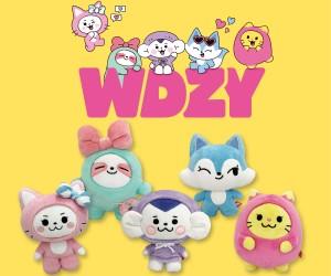 LINE FRIENDSとITZYが生んだ「WDZY」グッズが登場!