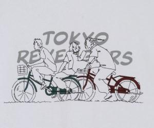 「東京リベンジャーズ」アパレルアイテム登場!ラインアートで描かれたキャラがエモ。