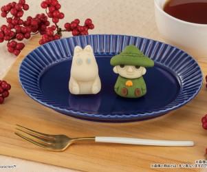 ムーミンが「食べマス」初登場!スナフキンと一緒に和菓子になったよ。