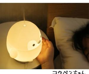 コウペンちゃん「ルームライト加湿器」登場!まんまるの体でお部屋を照らす&加湿してくれるよ♪